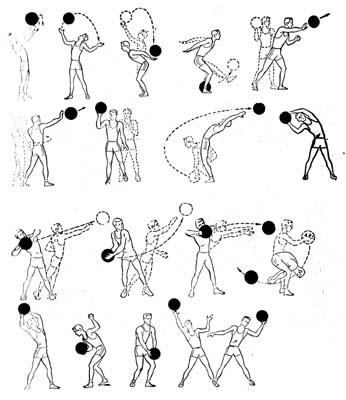 Вправи з м'ячем 1