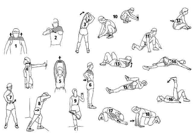 Вправи на розтягування 3