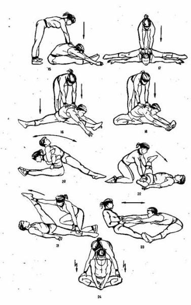 Вправи на розтягування 5